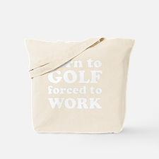 borngolf_white Tote Bag