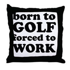 borngolf Throw Pillow
