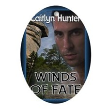 Winds of Fate greeting card Oval Ornament