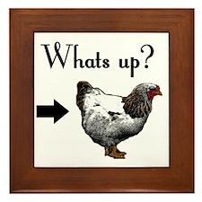 chickenbutt copy Framed Tile
