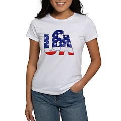 USA logo Tee