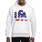 USA logo Hooded Sweatshirt