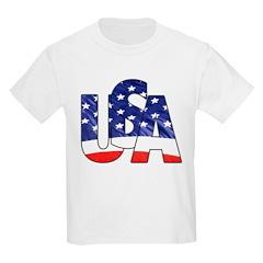 USA logo Kids T-Shirt