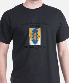 1st Squadron 4th Cav T-Shirt