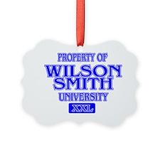 WILSON SMITH Ornament