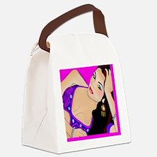 belly_dancer Canvas Lunch Bag