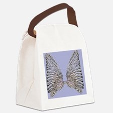 Wings blue Canvas Lunch Bag