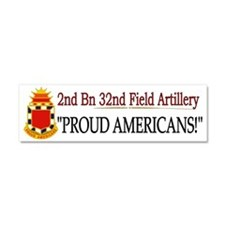 2nd Bn 32nd FA bs1 Car Magnet 10 x 3