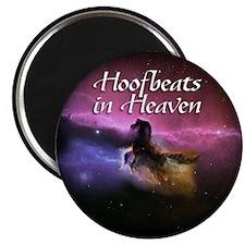 "Hoofbeats In Heaven 2.25"" Magnet (10 pack)"