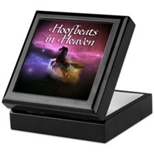 Hoofbeats In Heaven Keepsake Box