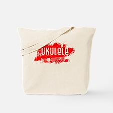 Red Ukulele uke Tote Bag