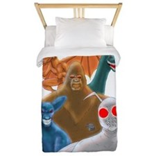 Cryptids Twin Duvet