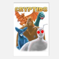 Cryptids Postcards (Package of 8)