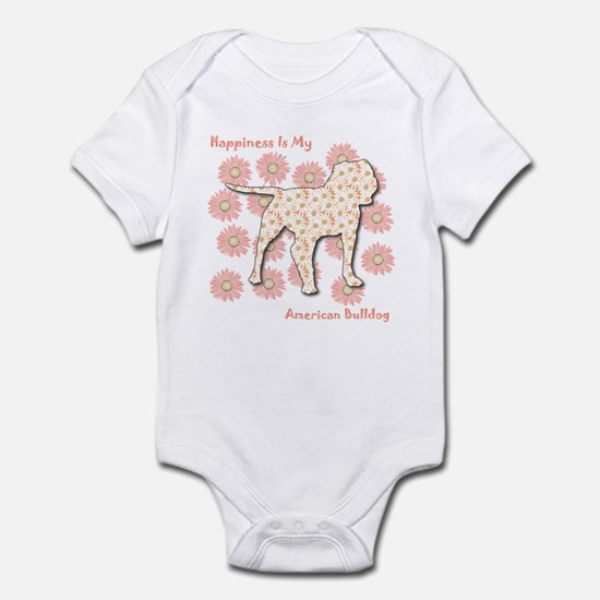 Bulldog Happiness Infant Bodysuit