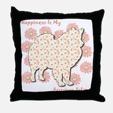 Eskimo Happiness Throw Pillow