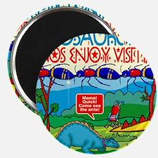38-dinos-enjoy-visiting-baby-visits-ant-hil Magnet