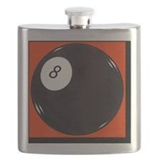 eight_ball_red Flask