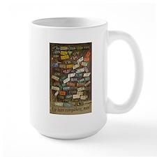 Ive Been Everywhere, Man - Large Mugs