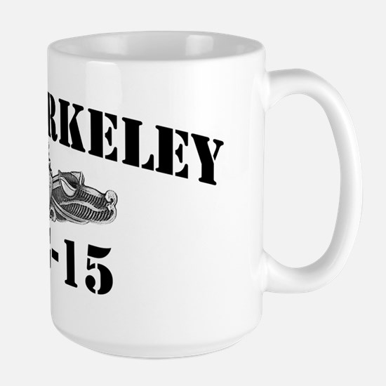 berkeley black letters Large Mug