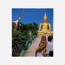 Thailand, Koh Samui Island. Tourists Throw Blanket