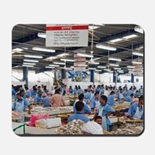 Fish Market, Dubai, United Arab Emirates Mousepad