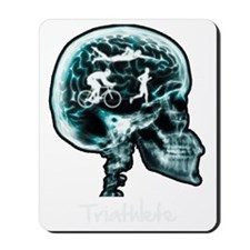 xray-man-triathlon Mousepad