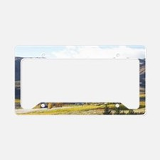 Carrick Vineyards and Lake Du License Plate Holder
