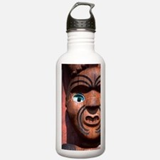Maori Carving on Arata Water Bottle