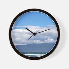 Beach at Westport, West Coast, South Is Wall Clock