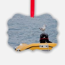 Seagulls on dinghy, Whitsunday Is Ornament