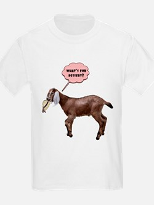 goat meal Kids T-Shirt