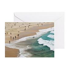 Sydney. World famous Bondi Beach, Sy Greeting Card