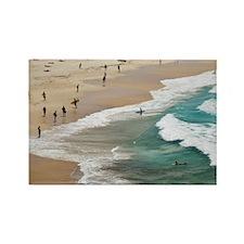 Sydney. World famous Bondi Beach, Rectangle Magnet