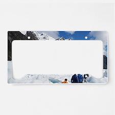 Franz Josef Glacier License Plate Holder