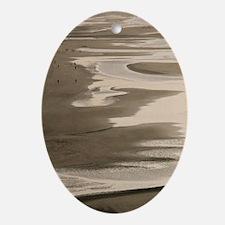 Oman, Muscat, Qurm. Qurm Beach / Sun Oval Ornament