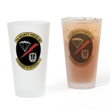 786th Security Forces Squadron Drinking Glass