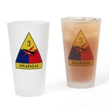 3rd Armored Division - Spearhead Drinking Glass