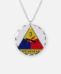 3rd Armored Division - Spear Necklace
