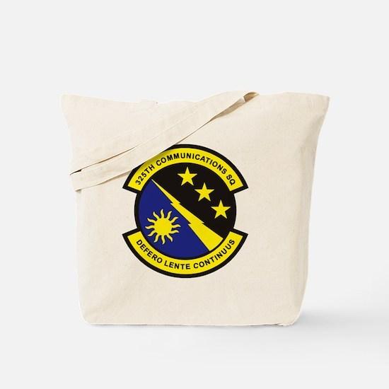325th Comm SQ Tote Bag