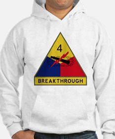 4th Armored Division - Breakthro Hoodie