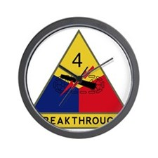 4th Armored Division - Breakthrough Wall Clock