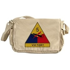 5th Armored Division - Victory Messenger Bag