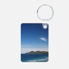 One Mile Beach, Forster, N Keychains