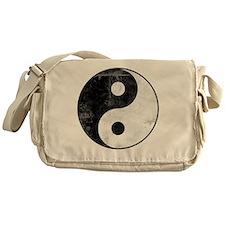 distYinYangT Messenger Bag
