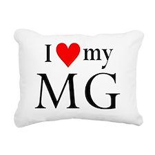 I heart my MG Rectangular Canvas Pillow