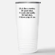 monkey_life_btle1 Stainless Steel Travel Mug