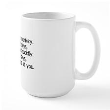 monkey_life_btle1 Mug