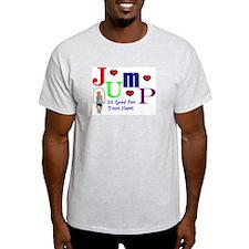 Jump Ash Grey T-Shirt
