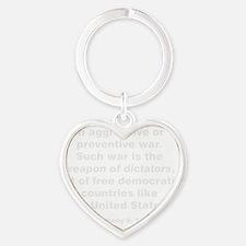 preventW Heart Keychain