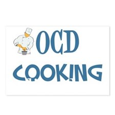 obsessivecookingdisorderw Postcards (Package of 8)